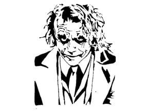 The Joker Stencil