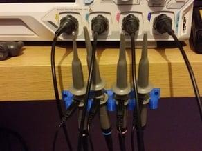 4 Channel Oscilloscope Probe holder