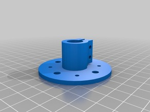 12 mm shaft support for 60T Timing HUB Pulley