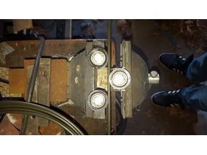 """Bench Vise Brake Line Roller [3/16"""", 1/4"""", 6mm]"""
