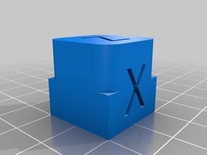 Filleted XYZ Cube