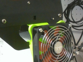 120mm Fan mount for the B9 Creator