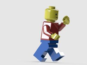 Toy Man - Lego like & movable - original Scale!