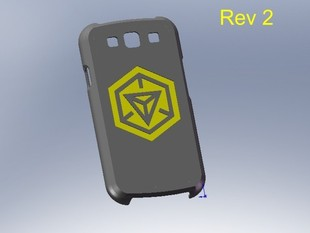 Galaxy s3 phone cover with Ingress  Logo