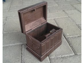 Old Copper Secret Box