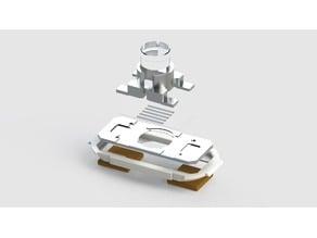 High-temperature sample heater for single molecule microscopy