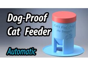 Dog-Proof Cat Feeder