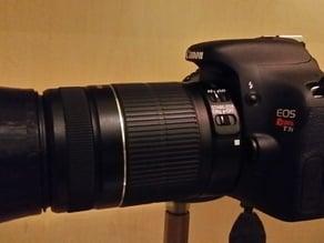Lens Hood for Canon Rebel T3i - 58mm