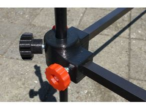Fishing Rod Pod for Carp - 3D print Rod Pod