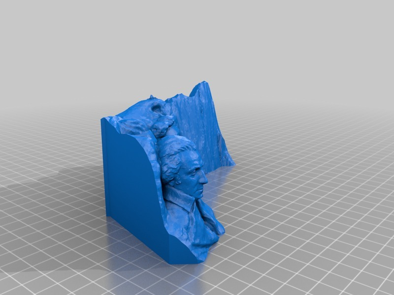 Add a Face to Mt  Rushmore by mfritz - Thingiverse