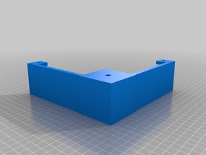 "55mm increase for ""Ikea Lack table Enclosure from cisardom"""