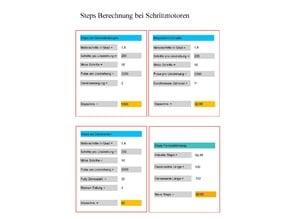 PDF Berechnungstool für Stepper