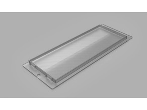 Cooker Extractor Fan Light Cover (Philips Whirlpool and others)