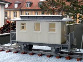 Sächsischer Personenwagen 107K  Wagen passend zu Lokomotive 1K (Thing: 400667)