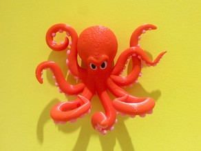 Multi-Color Octopus Holder