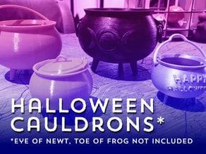 Halloween Cauldrons