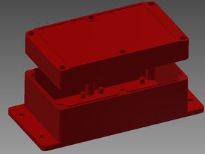 Red Enclosure from SparkFun PRT-11366