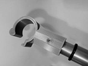Telescopic window(-blind) opening adapter