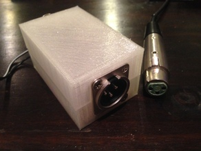 Microphone Amplifier Box