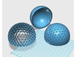 Geodesic 6V Dome