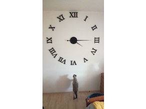 Extra large roman wall clock