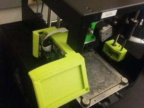 Lulzbot mini 3D Printer Raspberry Pi Web Camera Card holder Octoprint