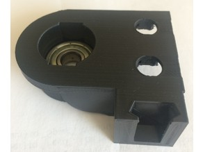 Mixed filament guide with Z axis stabilizer