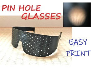 Pin Hole Glasses