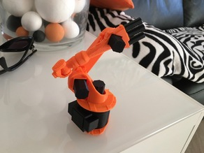 Kuka KR 16 5 axis moveable splitted