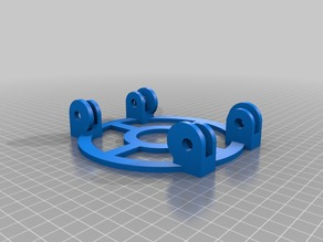 My Customized ROLLER RING | Parametric Filament Spool Holder