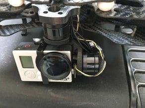 Black Snapper 3D-Gimbal for GoPro Hero3+