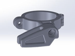 Chain guide with high clamp - 34.9