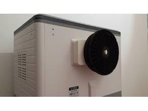 Carbon filter adaptor for Flashforge Dreamer