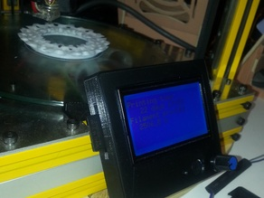 GeeeTech Full Graphics LCD Case and Misumi HFS5 Mount