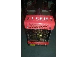 FLSUN Kossel PSU mount for hotbed