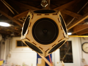Sputnik 17 - 4 inch speakers