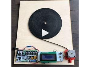 timing belt measurement machine