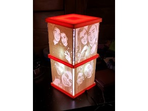 DIY Lithophane Lamp