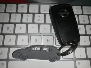 Opel Corsa E keychain