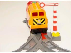 Lego Duplo Train Signal