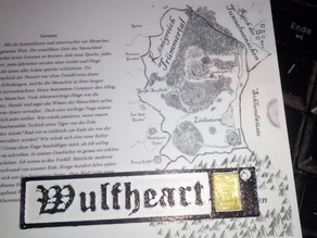 Wulfheart Gold Holder / Keychain.
