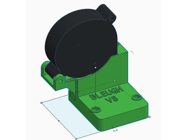 Wanhao Duplicator 9 D9 Top Fan Blower upgrade - V12 by