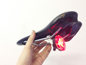 "Saddle mount for ""Smart LED / Planet Bike"" lights ***UPDATE***"