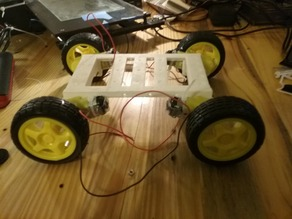 yellow hobby motor build platform