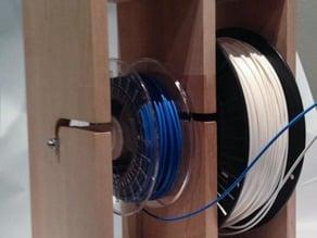 Robust Multisize Dual Spoolholder
