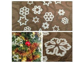 Snowflakes Christmas Ornaments
