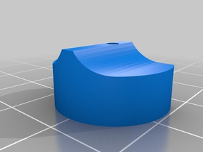 "Extruder ""Cap"" to reduce filament buckling"