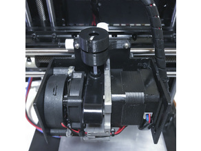 Filament guide with oiler