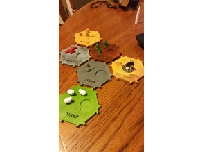 Cardless Settlers of Catan