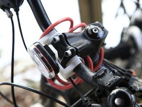 Bycicle Head Light Mount revision 1